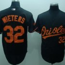 Matt Wieters #32 Black Baltimore Orioles Men's Jersey