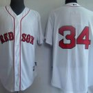 David Ortiz #34 White Boston Red Sox Men's Jersey