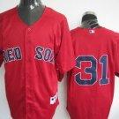 Jon Lester #31 Red Boston Red Sox Men's Jersey