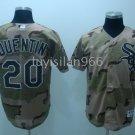 Carlos Quentin #20 Camo Chicago White Sox Men's Jersey