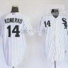 Paul Konerko #14 White Chicago White Sox Men's Jersey