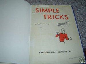 Simple Tricks by Allen V Green
