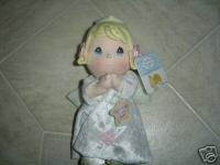 Precious Moments Prayer Girl Angel with Wings