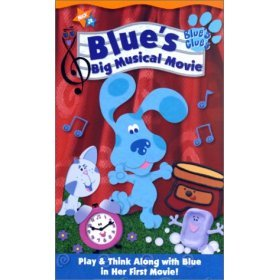 Blue's Big Musical Movie VHS