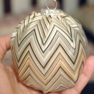 Missoni Home John fabric covered Christmas Ornament