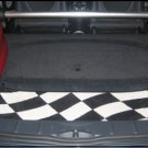Mat Set for US Mini Convertible - Checkered Flag