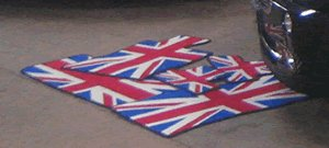 Mat Set for US Mini Convertible - Union Jack