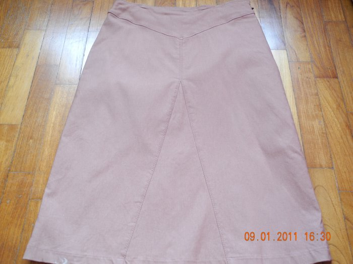 Brown Formal Skirt