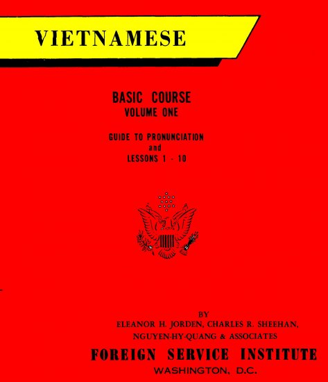 VIETNAMESE Language Audio Course+text on data DVD: FSI 15 hours