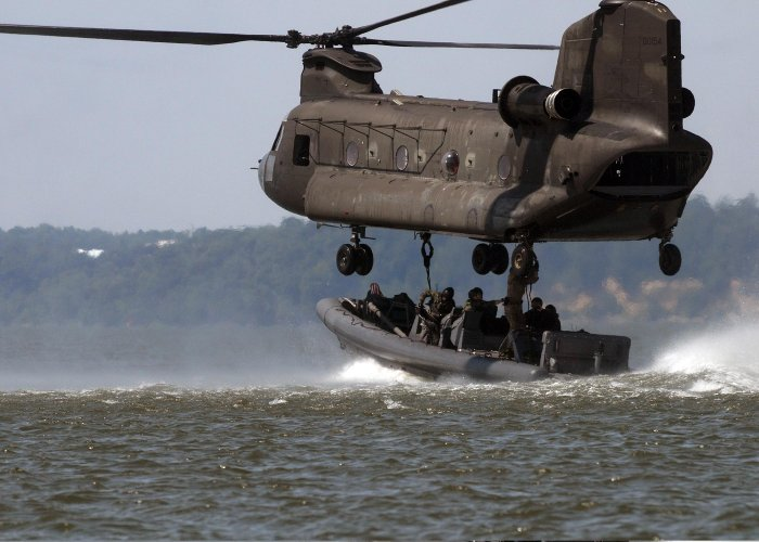 137 manuals for CH-47 CHINOOK Helicopter on DVD