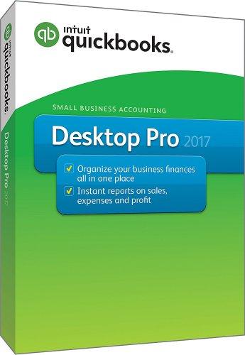 Quickbooks 2017 Pro for Windows [DVD-ROM] US Version [PC Disc]