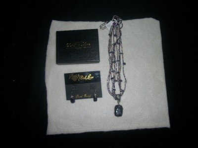 ROCK ON NECKLACE AND EARRING SET~ JEWELS BY PARK LANE~