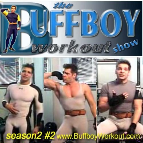 BUFFBOY  WORKOUT  show  seas.2 #2  lycra singlet tights