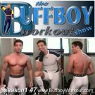 BUFFBOY  WORKOUT  show  seas.1 #7  lycra singlet tights
