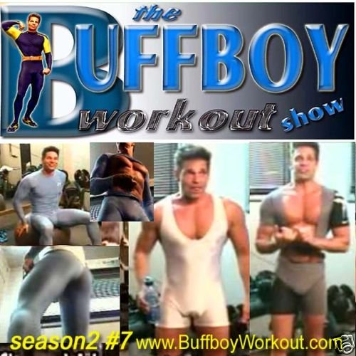 BUFFBOY  WORKOUT  show  seas.2 #7  lycra singlet tights