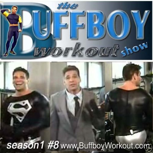 BUFFBOY  WORKOUT  show  seas.1 #8  lycra singlet tights