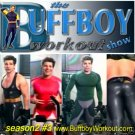 BUFFBOY  WORKOUT  show  seas.2 #3 lycra singlet tights