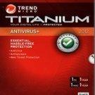 NEW Trend Micro Titanium Antivirus+ 2012