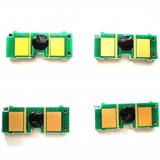4 pcs Hp 1500 2500 2550 Toner cartridge chip