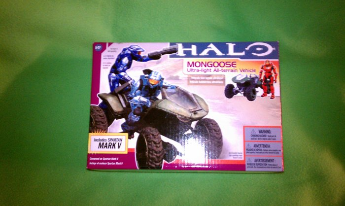 Halo 3 - Mongoose - w/ Mark V Spartan - Ultra-light All-terrain Vehicle