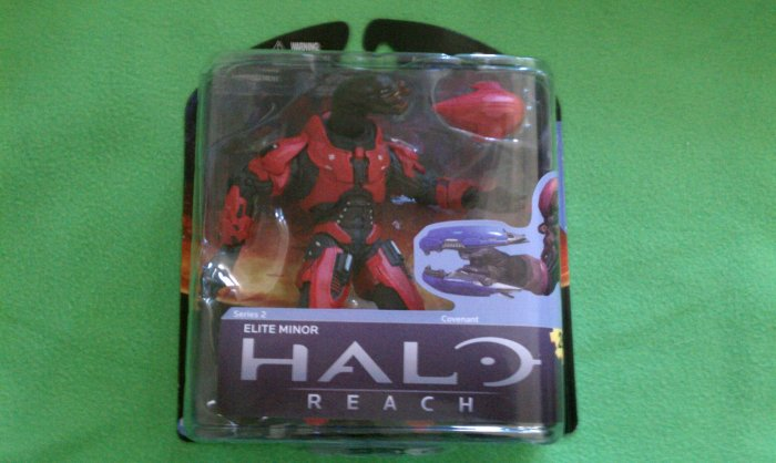 Halo Reach - Series 2 - Red Elite Minor - Target Exclusive