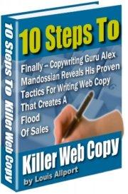 10 Steps To A Killer Web Copy