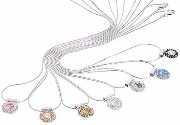 Swarovski Crystal Necklace Pendant �OMNIA�