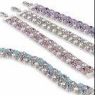 "Swarovski Crystal Bracelet ""LINK"""