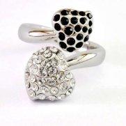 Swarovski Crystal Ring - Isemay (Jet)