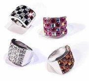 "Swarovski Crystal Ring ""CAREE 4R"""