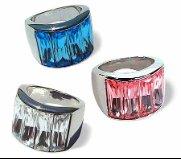 """Swarovski Crystal Ring """"ROXY"""""""