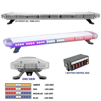 "47"" Vanguard 3000 LED Lightbar"