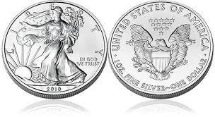 2008 American Eagle 1 Troy Oz. Silver Coin, .999 Fine