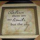 decorative framed plaque