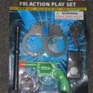 FBI action play set