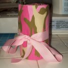 Pink Camo 24 count Crayon Roll