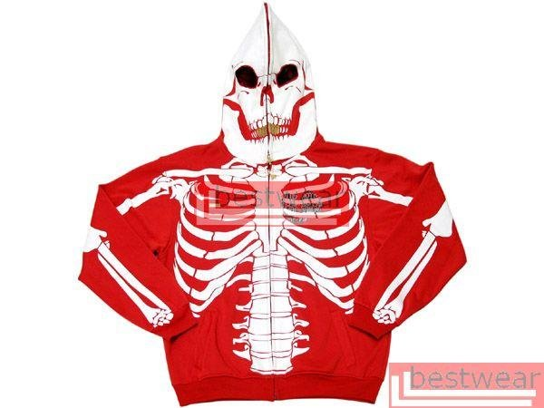 Brand New L.R.G. LRG Dead Serious Skeleton Hoodie LRGH02 Size XXXL 3XL