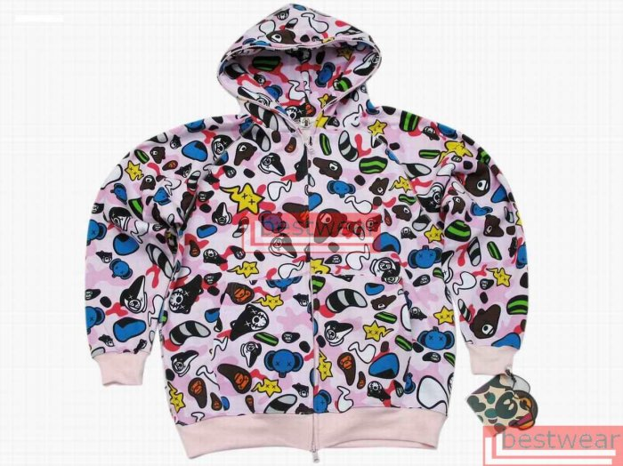 Brand New Bape Bathing Ape Animal Kingdom Safari Baby Milo BH16 Size XL