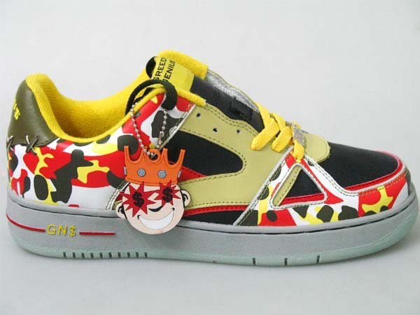 Greedy Genius Phantom German Camo Sneaker