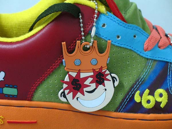 Greedy Genius Primo Woodstock 69 Casual Hip-Hop Sneaker