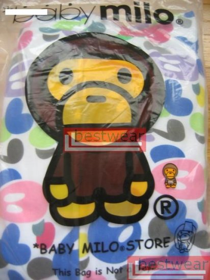 Brand New Bape A Bathing Ape Double-Zipper Hoodie Baby Milo BH23 Size 2XL