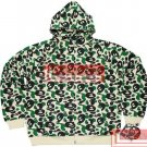 Brand New Bape A Bathing Ape Double-Zipper Hoodie Baby Milo BH12 Size XL