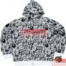Brand New Bape A Bathing Ape Double-Zipper Hoodie BH08 Size XXL 2XL