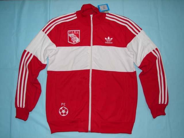 Adidas Track Jacket Peru Red