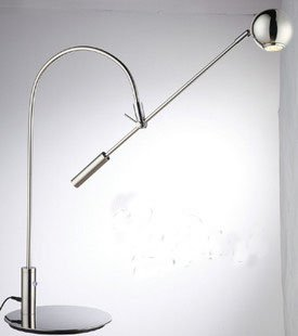 led fashionable and modern stainless steel desk lamp