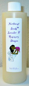 Northwest Scents Lavender Rosemary Shampoo For Dry, Curly, Color Treated & Ethnic Hair 8 oz bottle