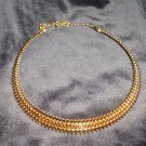 Avon Goldtone  Collar Necklace