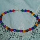 Multi-color Beaded Necklace Paris