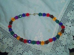 Multi-color Beaded Necklace Paris