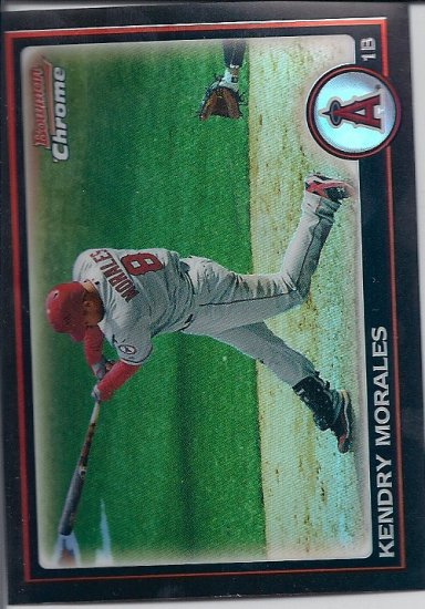 2010 Bowman Chrome Kendry Morales Refractor card